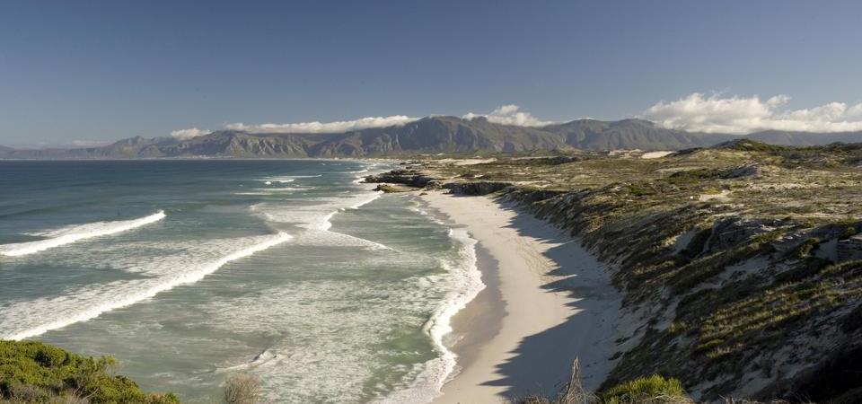 Vue plage Grootsbos