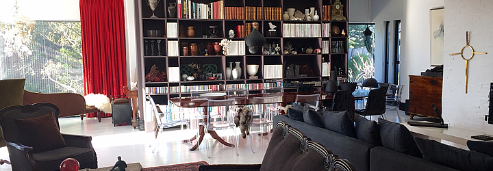 Salon - Bibliothèque De Kelders Private Retreat