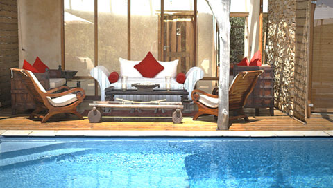 Piscine Trogon House Forest & Spa