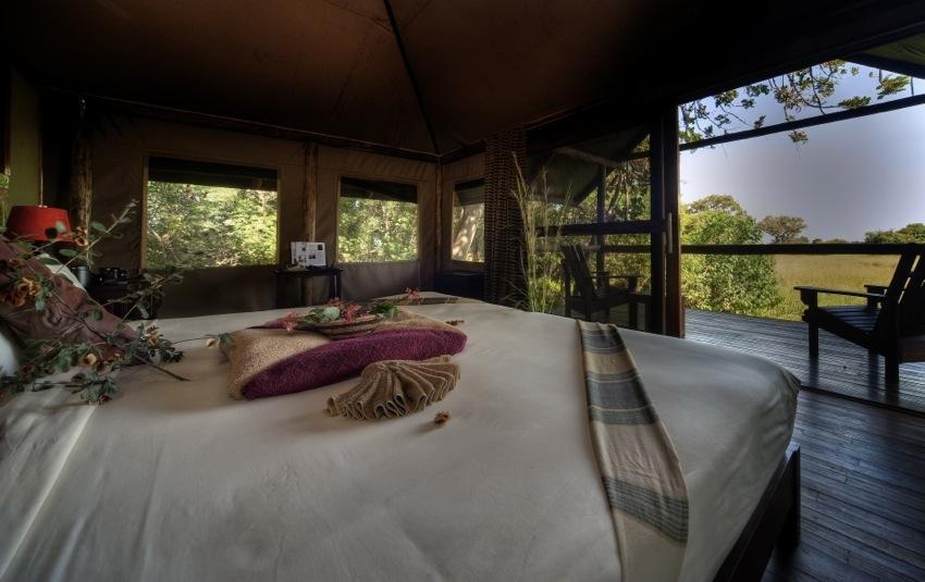 Chambre avec vue terrasse Little Kwara