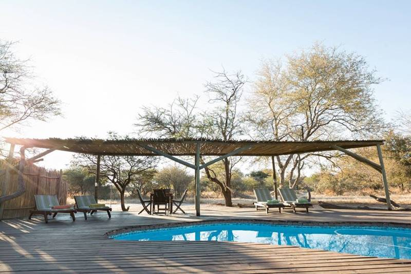 Piscine Haina Kalahari Lodge