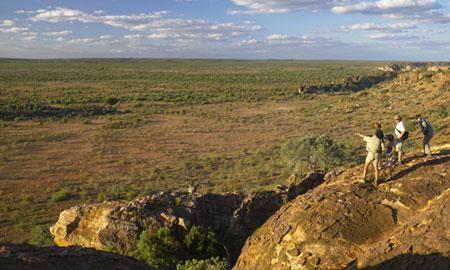 Vue panoramique Mashatu