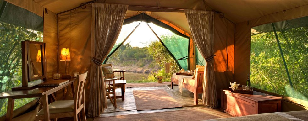Chambre Rekero Mara Camp