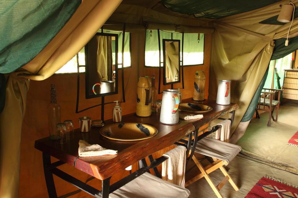 Salle de douche Rekero Mara Camp