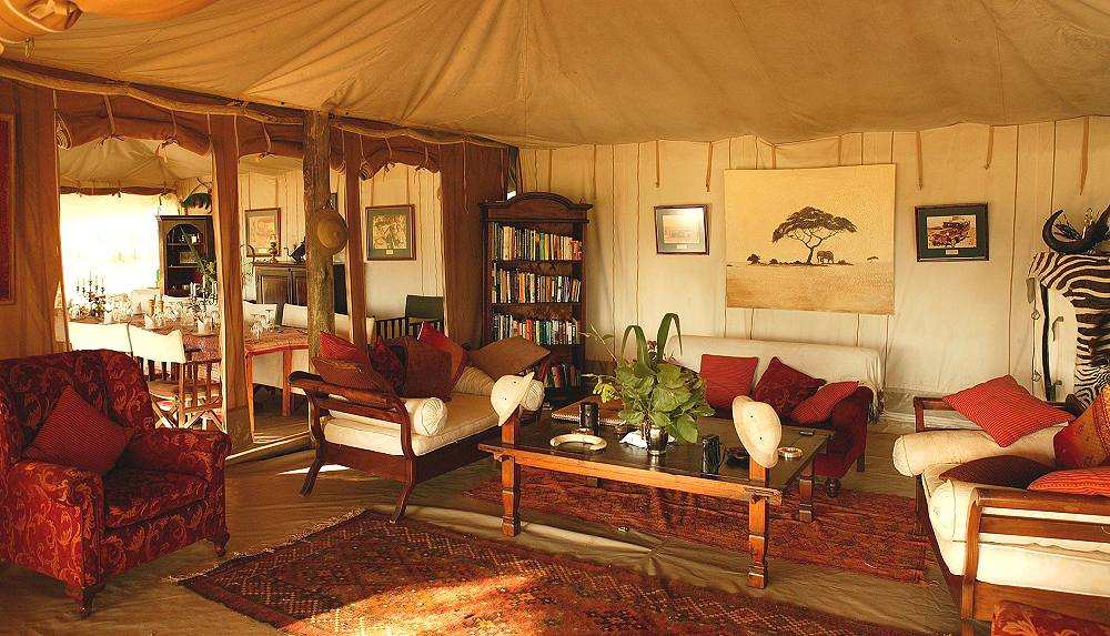 Salon Cottar's 1920s Safari Camp