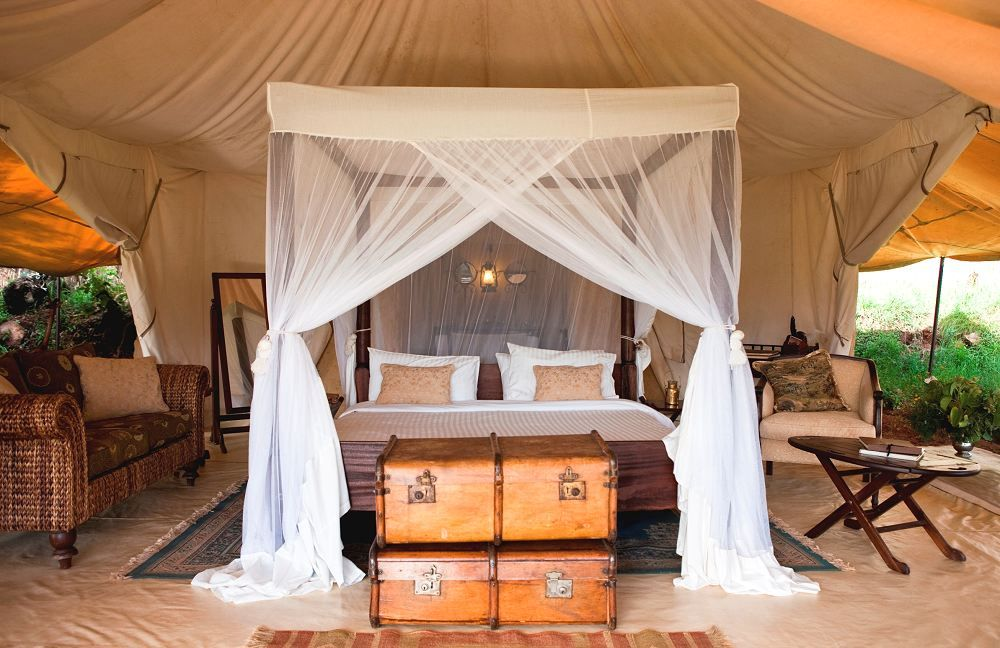 Chambre  Cottar's 1920s Safari Camp