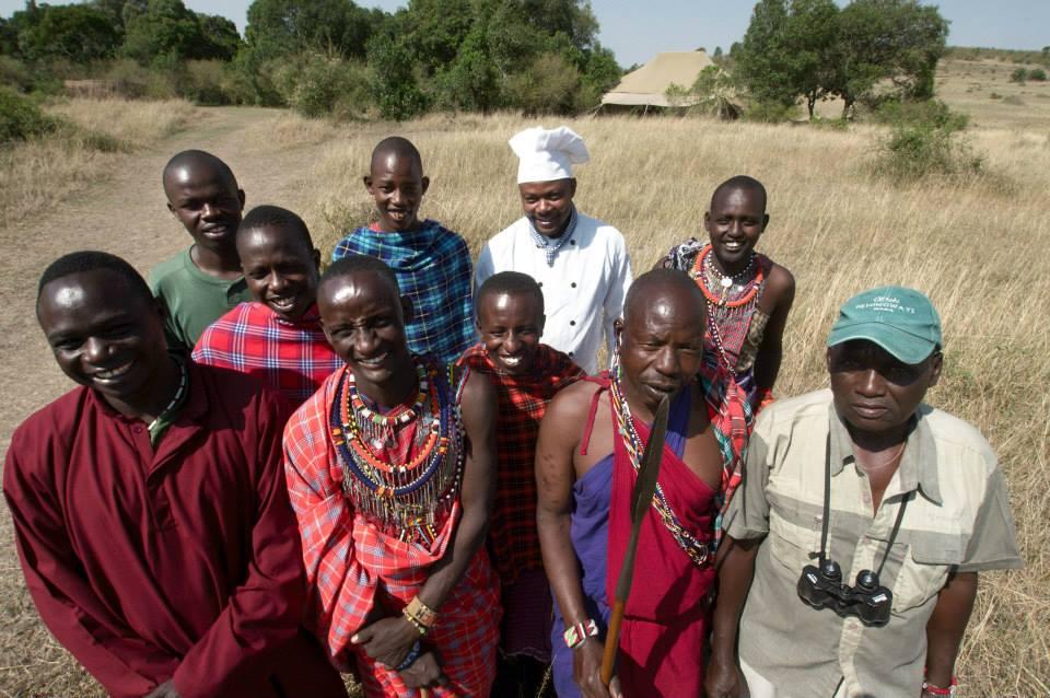 Maasai Speke's Camp
