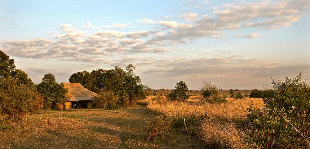 Vue panoramique Speke's Camp
