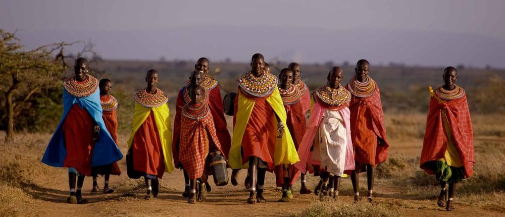 Groupe de Masais Ol Malo