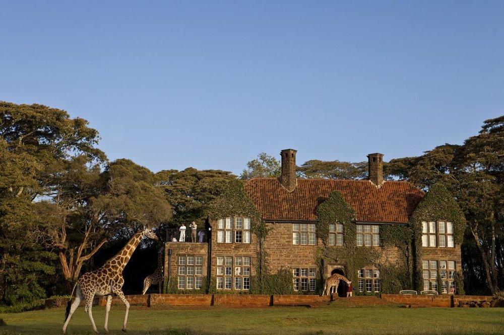 Vue extérieure Giraffe Manor