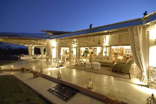 Vue extérieure Mushara Lodge