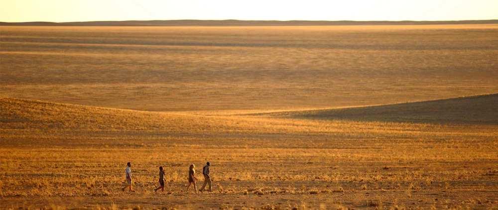 Promenade dans le désert  Sossusvlei Desert Lodge