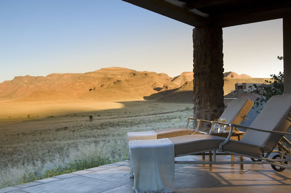 Terrasse Sossusvlei Desert Lodge