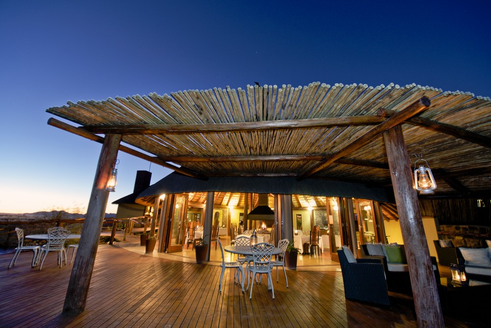 Vue extérieure Hoodia Desert Lodge