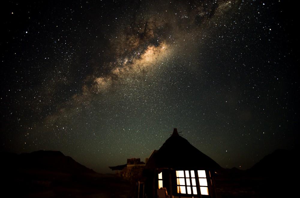Nuit étoilée Hoodia Desert Lodge