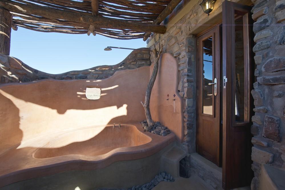 Baignoire extérieure Hoodia Desert Lodge