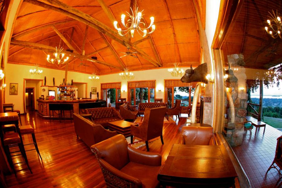 Salle à Manger Mweya Safari Lodge