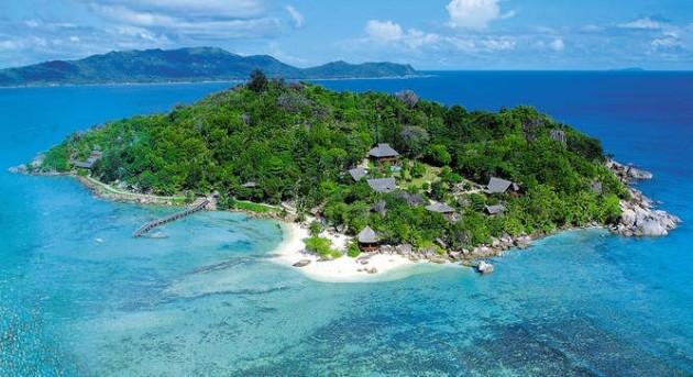 Vue du Ciel Denis Private Island