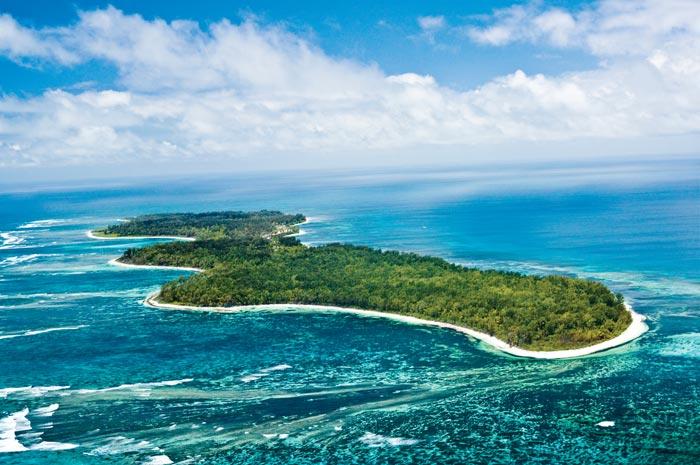 Vue du Ciel Desroches Island
