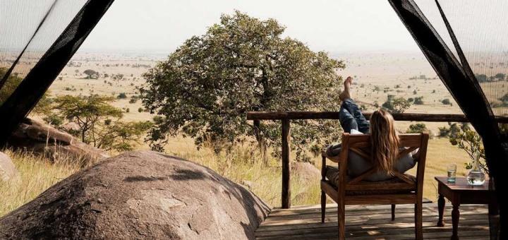 Terrasse Nomad Lamai Serengeti