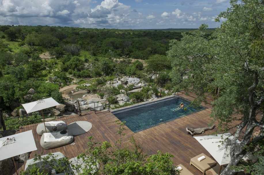 Piscine Mwiba Lodge