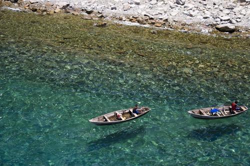 Barques vue du Ciel Lupita Island