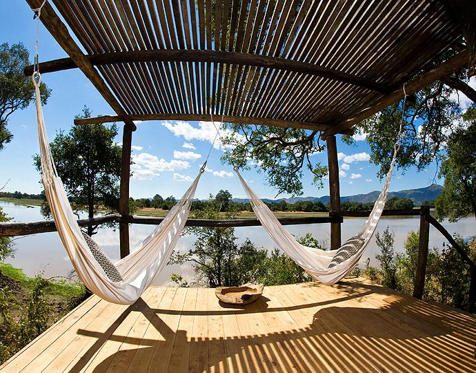Terrasse Chindeni Camp