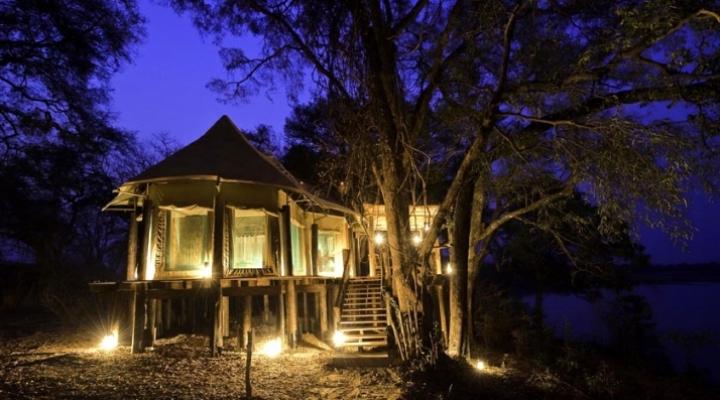 Vue extérieure Chindeni Camp