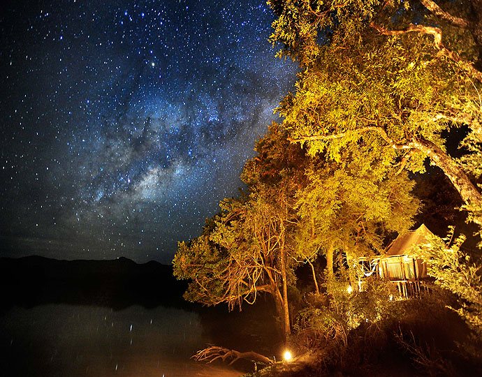 Pluie d'étoiles Chindeni Camp