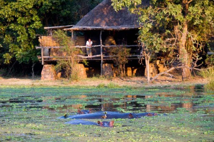 Vue extérieure Mfuwe Lodge