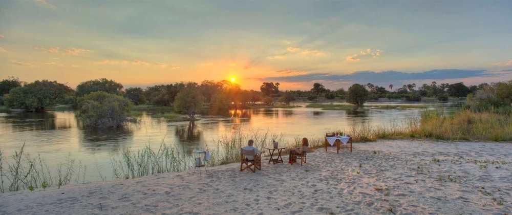 vue du Zambèze River Club