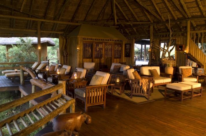 Lodge principale Lebala Camp