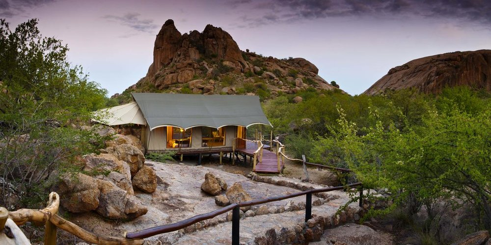 Exterieur Erongo Wilderness Lodge