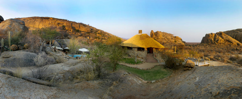 Lodge dans les Rochers Erongo Wilderness Lodge