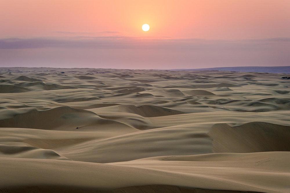Le désert Serra Cafema