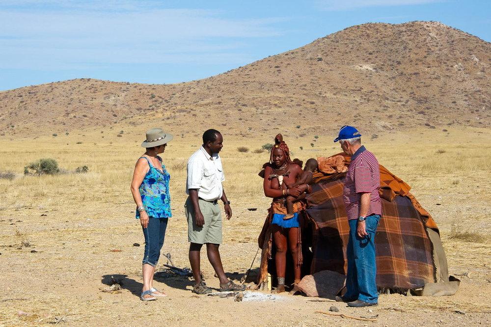 Rencontre avec les Himbas Serra Cafema