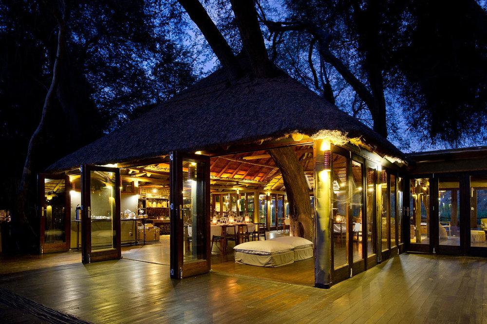 Lodge principale de nuit Serra Cafema
