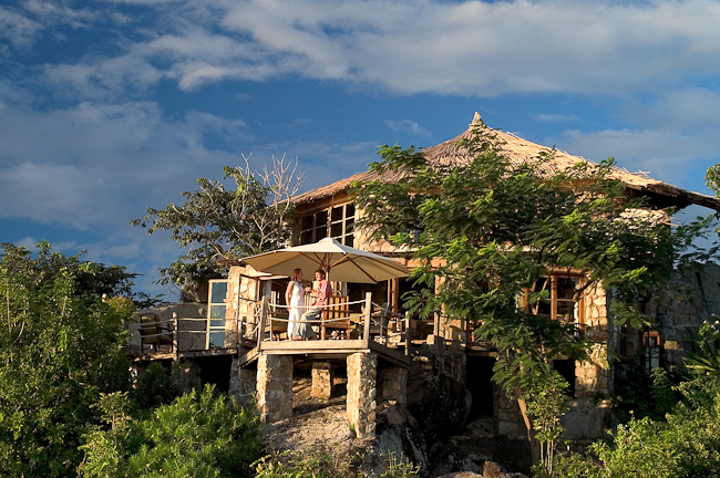 Vue extérieure Kaya Mawa