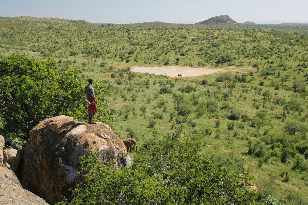 Voyage de noces Romance Kenyane - vue à Sabuk