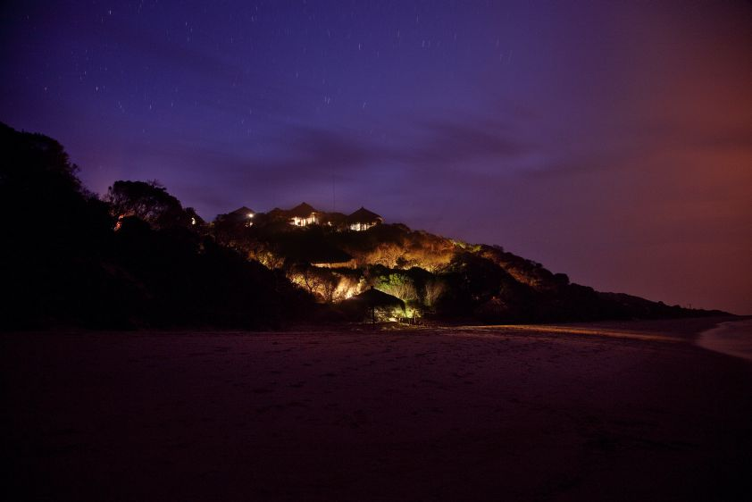 Voyage de noces réserves privées Afrique du Sud et Mozambique - Machangulo de nuit