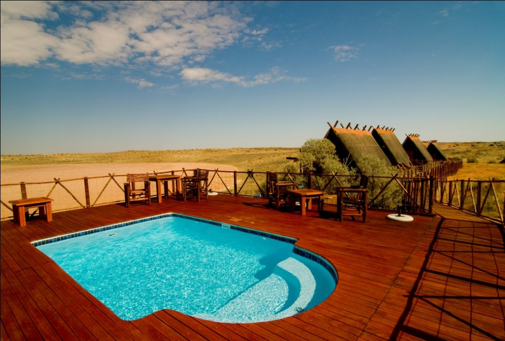 Piscine du Xaus lodge