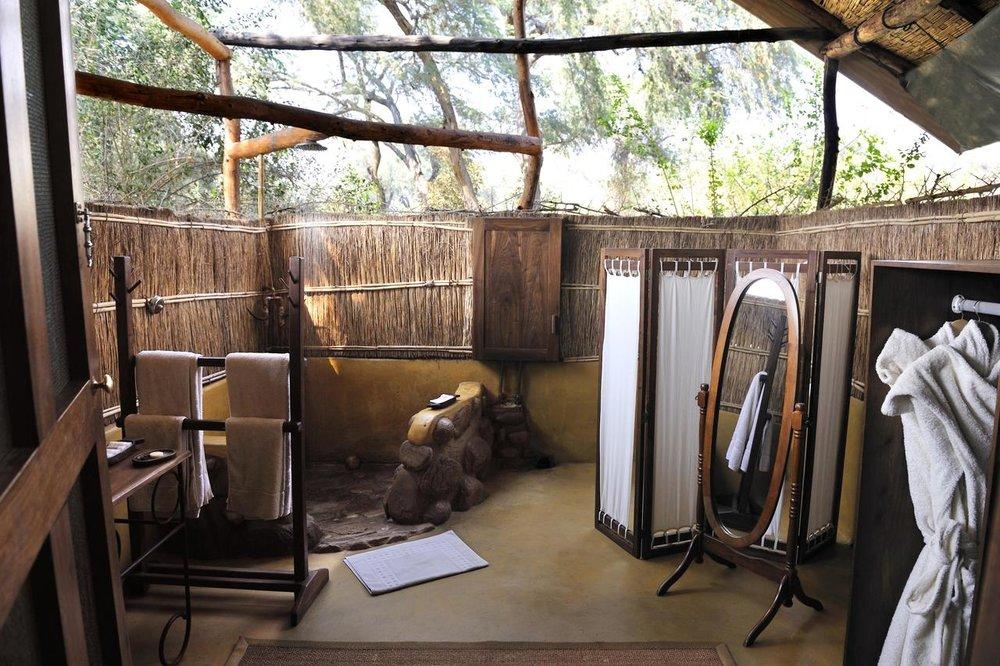 Salle de bain Chongwe River camp