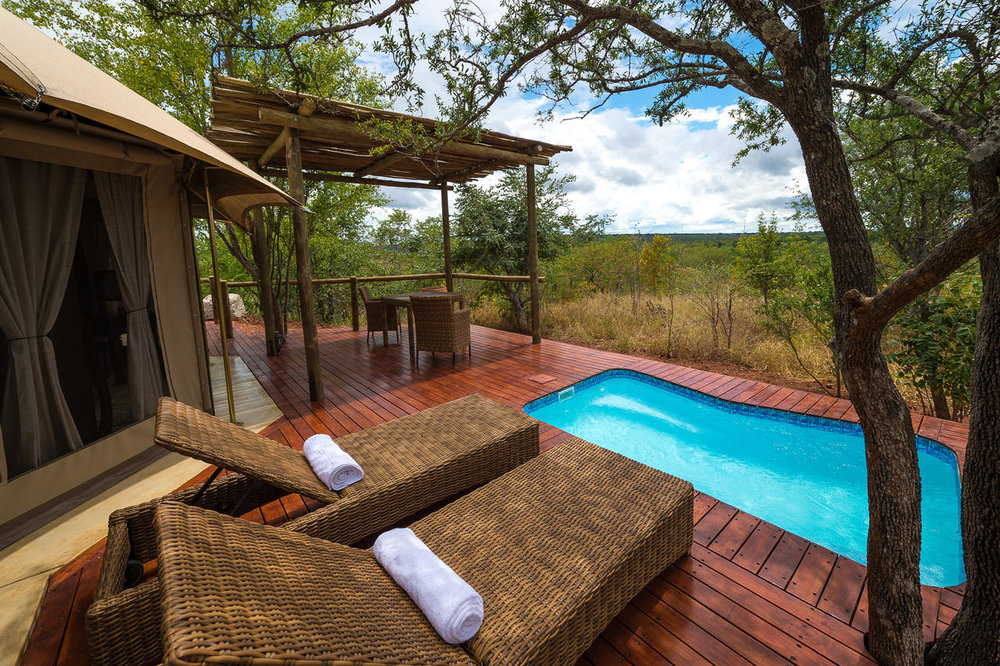 The Elephant camp private suite