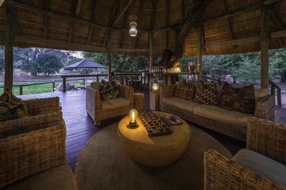 Intérieur de Bilimungwe Bushcamp