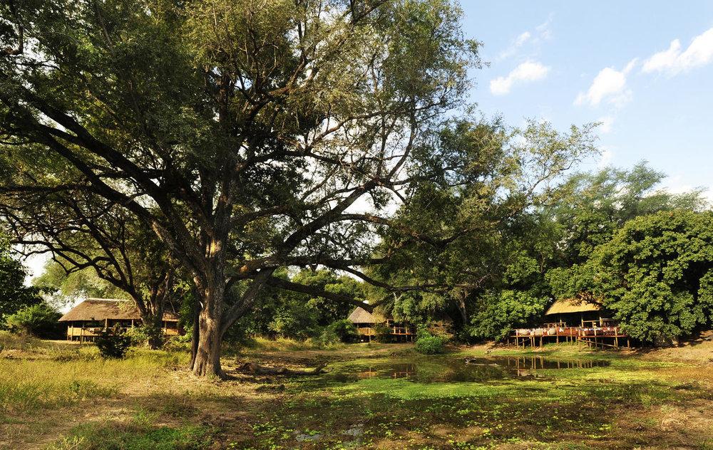 Vue extérieure de Bilimungwe Bushcamp