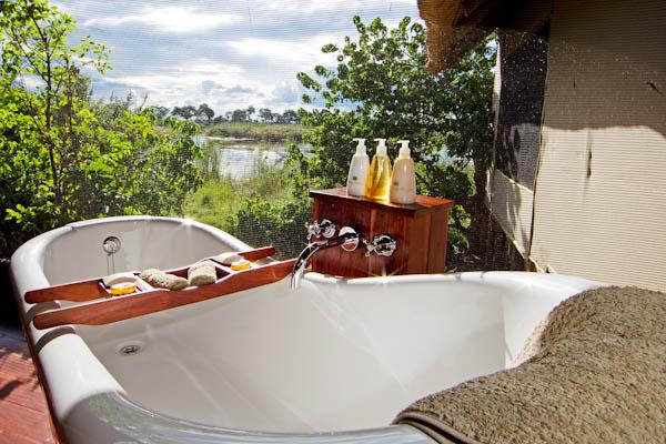 Safari Sublime Botswana - Salle de bain Lagoon