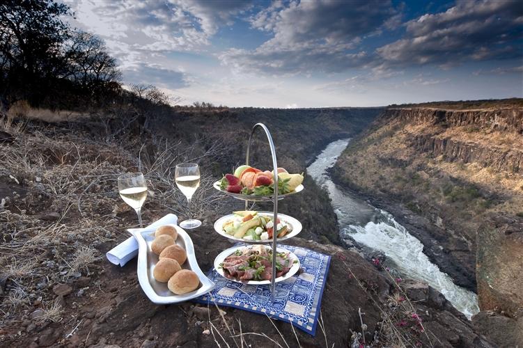 Safari du Cap aux chutes Victoria - Pique-nique à The Elephant camp