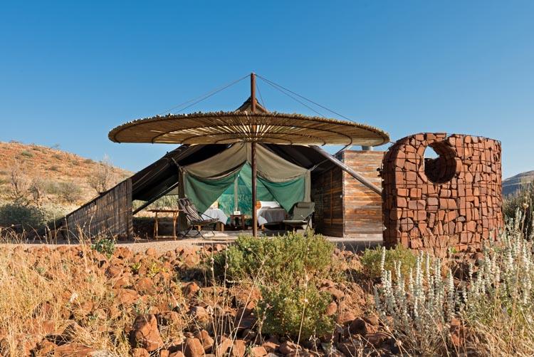 Safari Splendide Namibie - Tente Etendeka