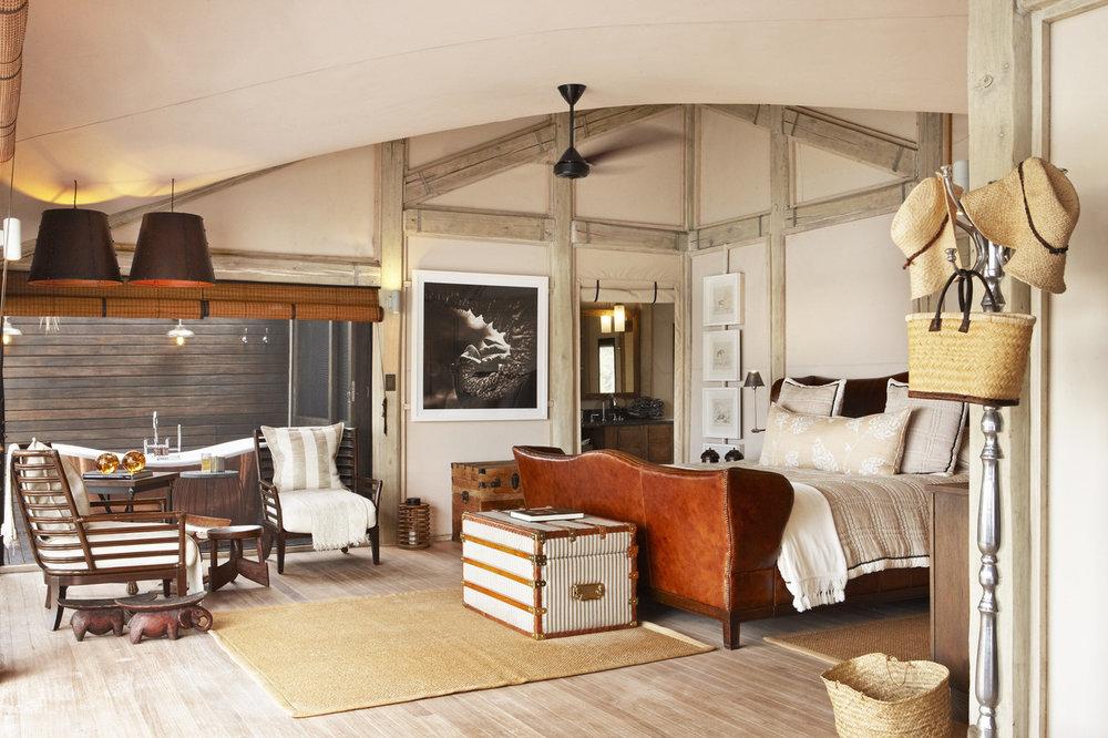 Safari Déserts et Plaines Africaines - Chambre à Abu