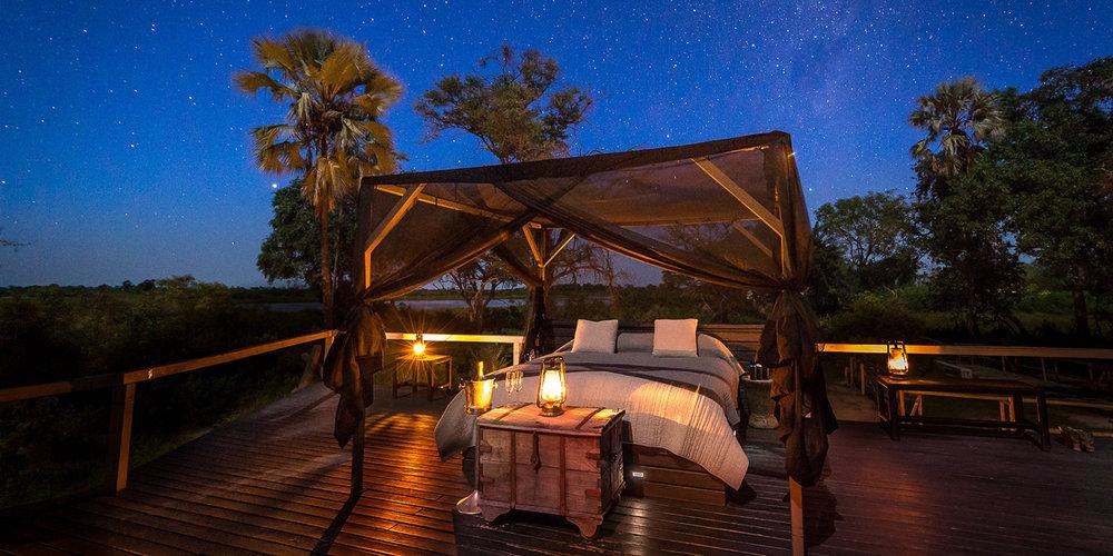 Nuit sous les étoiles Abu camp